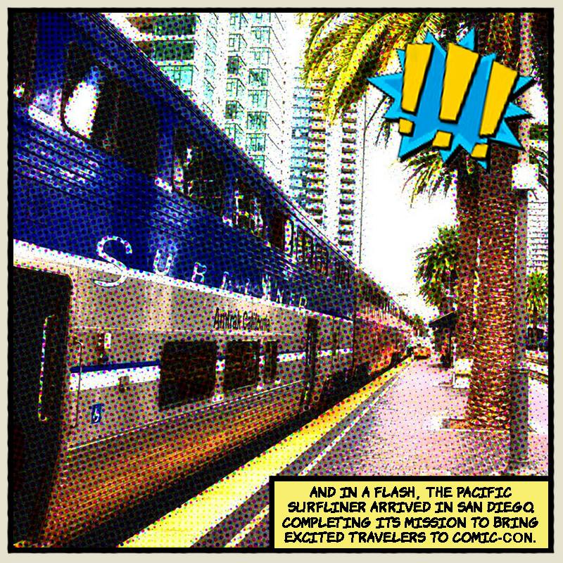 Pacific Surfliner Comic