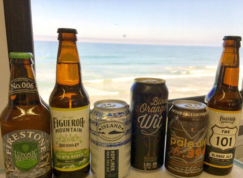 New Beers Available Onboard the Pacific Surfliner