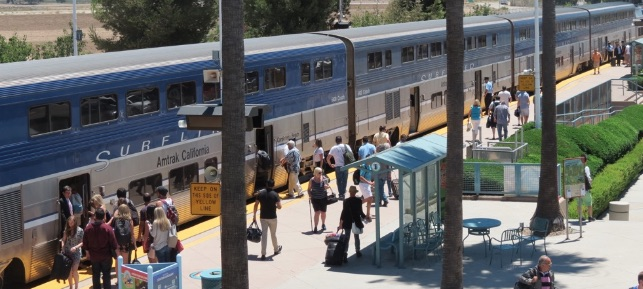 Pacific Surfliner in Irvine