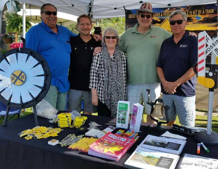 California Operation Lifesaver Outreach Event in San Clemente
