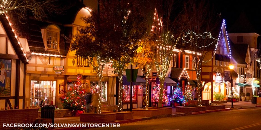 Holidays in Solvang
