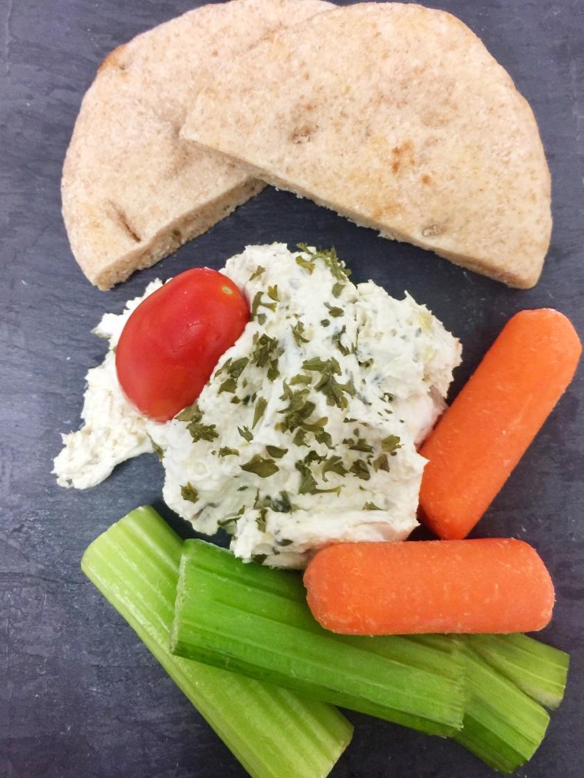 Veggie and Dip Bistro Box